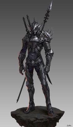 New concept art character design fantasy armors Ideas Fantasy Character Design, Character Concept, Character Inspiration, Character Art, Character Outfits, Fantasy Kunst, Dark Fantasy Art, Fantasy Armor, Medieval Fantasy