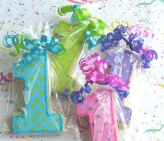 Reserved for Heather---Number One Cookies - First Birthday Cookies - Favors - Number Cookie favors - 1 Dozen 1st Birthday Favors, First Birthday Cookies, Baby 1st Birthday, Birthday Bash, First Birthday Parties, Birthday Ideas, Party Fiesta, 1st Birthdays, Party Time