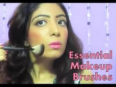 Must have, essetial makeup brushes for beginners, beauty, makeup brush, best makeup brushes