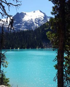 Joffrey Lake Second lake in the trail and my ultimate favourite. A must if you are in British Columbia, Canada #beautifulBC