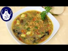 Cheeseburger Chowder, Soup, Youtube, Curry, Food Food, Curries, Soups, Youtubers