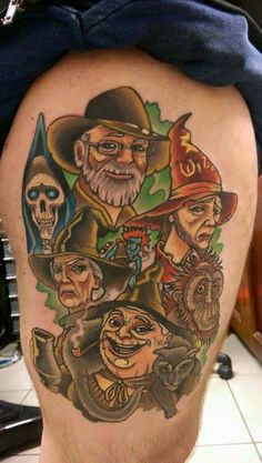 Tattoo Artist : Christopher H. Caughey