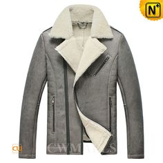 Distressed Sheepskin Shearling Jacket CW861257 Winter distressed shearling jacket crafted from natural Australian sheepskin with lamb fur shearling material, it is thick and comfortable,keep you warm though the chilliest months. Designer men's sheepskin jacket finished with notched collar, zip cuffs. www.cwmalls.com PayPal Available (Price: $1557.89) Email:sales@cwmalls.com
