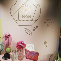 OUR GIFT TO MOM @ #伊勢丹新宿店 階 センターパーク 本日までです