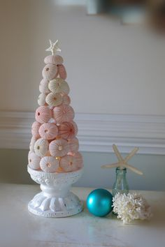 Sea Urchin Christmas Tree...great for the beach homes!