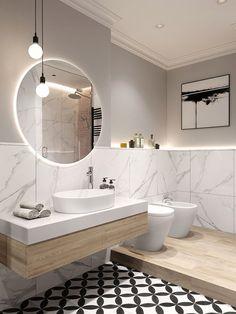 Afbeeldingsresultaat voor spiegel badkamer hout