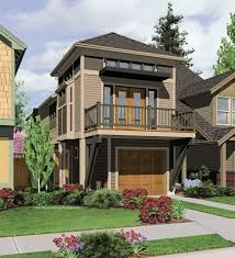 narrow house plans - Google Search
