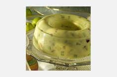 Lemon gelatin is blended with mayonnaise, apple, celery and walnuts for a creamy Waldorf salad or dessert mold perfect for the holidays.