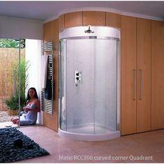 Matki Radiance Curved Corner Shower Enclosure