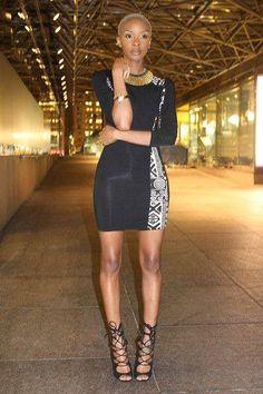 Love her style and this dress is hot! ~Latest African Fashion, African Prints, African fashion styles, African clothing, Nigerian style, Ghanaian fashion, African women dresses, African Bags, African shoes, Nigerian fashion, Ankara, Kitenge, Aso okè, Kenté, brocade. ~DKK