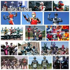 #MetalHero #Tokusatsu  Gavan - Sharivan - Shaider - Jaspion - Spielvan - Metalder - Jiraya - Jiban - Winspector - Solbrain - Excedraft - Janperson - Blue Swat - B-Fighter - B- Fighter Kabuto - Gavan 1 e 2 - Sharivan e Shaider Next Generation