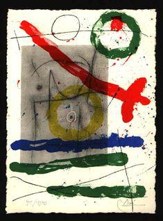 Libra - JOAN MIRÓ -  Catalogue of the original printed works No:  374 - www.original-grafik.de
