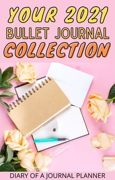 Make your 2021 bullet journal the best/ most effective bullet journal yet with our bujo collection ideas list with 100  brilliant ideas! #bulletjournalcollection #bujo #bulletjournalideas