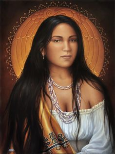 """The """"Ghi-ga-u"""" - also known as """"Beloved Woman"""" or """"War Woman"""" was an honor and office bestowed upon Cherokee women of exceptional bravery and honor. Although, no known portraits any of these women are known to exist, Nanyehi (Nancy Ward) (born approx. 1738) was one such woman to earn the title after a battle of Taliwa with the Muskogee Creek Indians. It was during that battle that her husband Kingfisher was slain, afterwhich, she took up his rifle and rallied the Cherokee to victory."""
