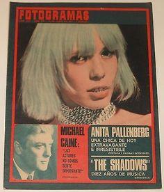 FOTOGRAMAS #974 1967 Anita Pallenberg Rolling Stones Brian Jones Spain magazine