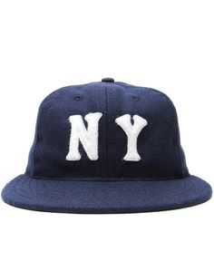 EBBETS FIELD FLANNELS - NEW YORK BLACK YANKEES 1936 BALLCAP