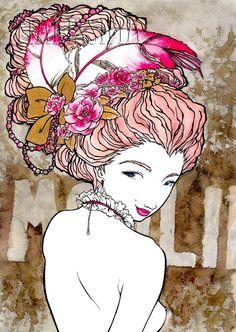 Madame de Pompadour by Makissima on Etsy