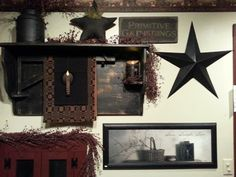 primitive decorating  @Shabby Cottage Studio- Gail Schmidt Shed Primitives