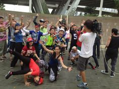 Acting and dancing HipHop with mediacorp #actfa #actfadance #actfaschool #chooyanqing #hiphop #hiphopsingapore