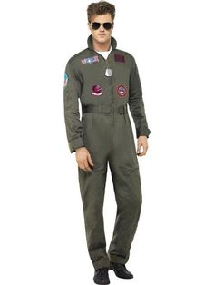 Deluxe Top Gun Costume