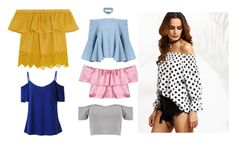 """""""In trend: Off Shoulder"""" by insha-firdous on Polyvore featuring Madewell and Boohoo"""
