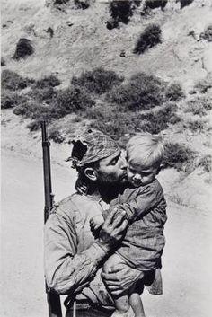 Untitled (Militiaman of Soldier of Their Republican Army, Spanish Civil War, Extremadura, Spain) | David Seymour