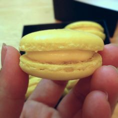Passion fruit macarons by joyosity, via Flickr