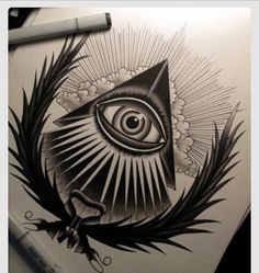 Image result for all seeing eyes tattoos