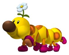 Wiggler- looks cute now, but don't get him mad! :)