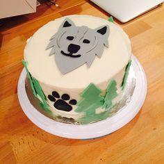 Great Wolf Lodge wolf cake