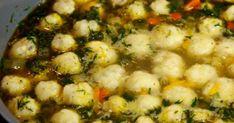 Ínycsiklandó sajtgombócleves, nem gondoltam volna, hogy ennyire finom lehet egy leves – Hiszed.Com Zucchini Cordon Bleu, Curry, Sprouts, Paleo, Beans, Soup, Vegetables, Cooking, Healthy