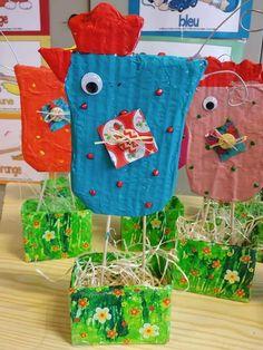 Easter Activities, Spring Activities, Preschool Crafts, Easter Art, Easter Crafts For Kids, Chicken Crafts, Crafts For Seniors, Bunny Crafts, Family Crafts