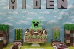 Aiden's Minecraft Birthday! | CatchMyParty.com