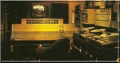 Led Zeppelin at Headley Grange Inside Rolling Stone Mobile truck