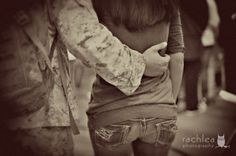 I traded in my pearls for his dog tags, now that's true love.