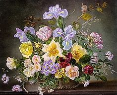 Play A Still Life With Peonies And Other Flowers Hidden Picture Puzzle