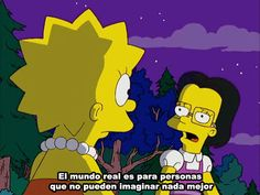 Find images and videos about books, phrases and lisa on We Heart It - the app to get lost in what you love. Simpsons Frases, Simpsons Quotes, Cartoon Quotes, Lisa Simpson, The Simpsons, Simpson Tumblr, Los Simsons, Dope Cartoons, Sad Girl