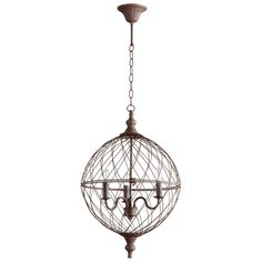 Buy the Cyan Design 05314 Rustic Direct. Shop for the Cyan Design 05314 Rustic Castile 3 Light Globe Pendant and save.