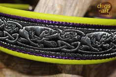 Items similar to Dog Collar Leather, Celtic Dragons Hounds on Etsy Celtic Dragon, Leather Dog Collars, Dog Art, Dragons, Trending Outfits, Unique Jewelry, Handmade Gifts, Dogs, Etsy