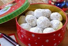 Toffee Snowballs, just in time for Holiday Baking! I usually start my baking list around the end of September. With so many different cookies and candies to make, I like to work from a list otherwi…