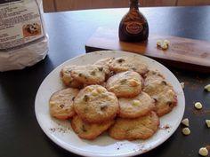 Grown-up Cinnamon Chocolate Chip cookie Plate