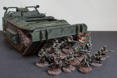 Warhammer 40k | Death Korps of Krieg | Gorgon Transport  #warhammer #40k #40000 #wh40k #wh40000 #warhammer40k #gw #gamesworkshop #wellofeterntiy #miniatures #wargaming #hobby #tabletop