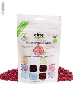 Elite Naturel 100% Organic Dried Pomegranate Arils