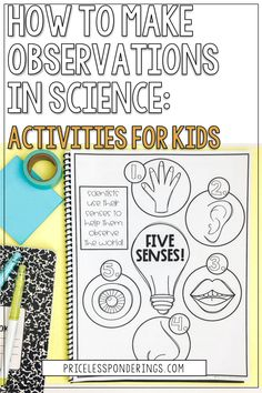 Teaching science observations for kids couldn't be easier with these fun activity ideas! Save the pin to learn more! Second Grade Science, Teaching Science, Activities For Kids, Learning, Children Activities, Studying, Teaching, Kid Activities, Petite Section