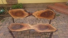Bench wood Out