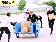 [PICTURE][PD NOTE] BTS On SBS Running Man '7 VS 300' [160528]