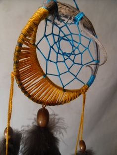 Moon dream catcher.