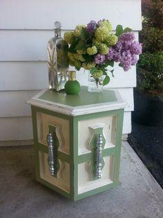Beautiful Little Vintage side table redo