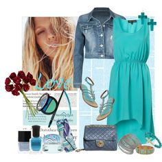 Love Turquoise..., created by valeria-87 on Polyvore