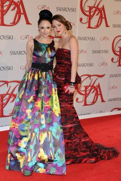 CFDA Awards  Stacey Bendet and Devon Aoki in Alice and Olivia.